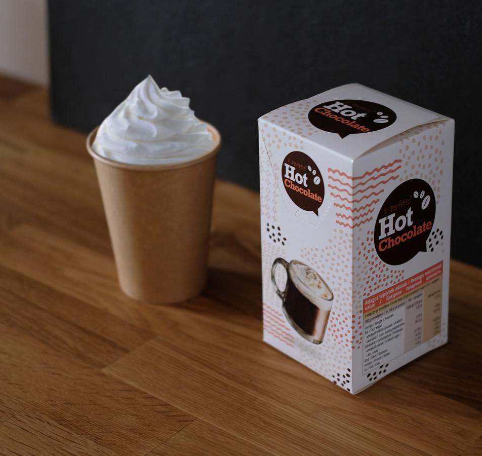 Instant kávé csomagolás